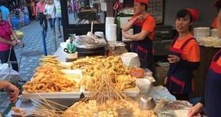 Chả cá Odeng - ẩm thực đường phố Hàn Quốc